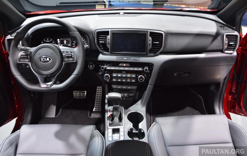 Frankfurt 2015: 2016 Kia Sportage unveiled in the flesh Image #380295