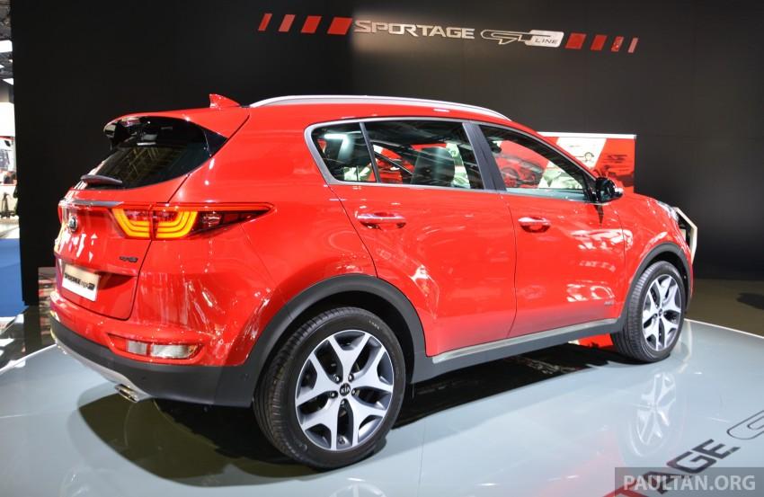 Frankfurt 2015: 2016 Kia Sportage unveiled in the flesh Image #380303
