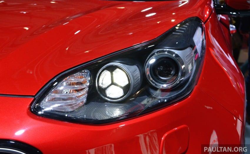 Frankfurt 2015: 2016 Kia Sportage unveiled in the flesh Image #380316
