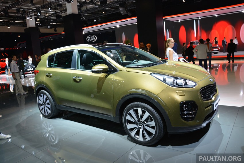 Frankfurt 2015: 2016 Kia Sportage unveiled in the flesh Image #380324