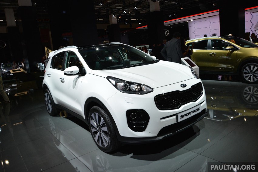 Frankfurt 2015: 2016 Kia Sportage unveiled in the flesh Image #380337