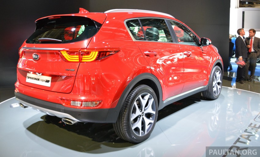 Frankfurt 2015: 2016 Kia Sportage unveiled in the flesh Image #380287