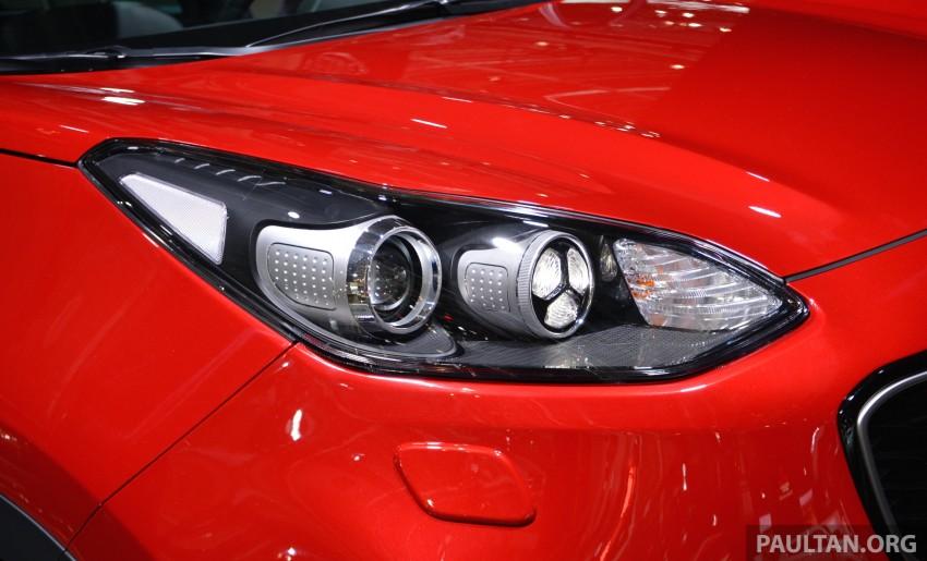 Frankfurt 2015: 2016 Kia Sportage unveiled in the flesh Image #380291