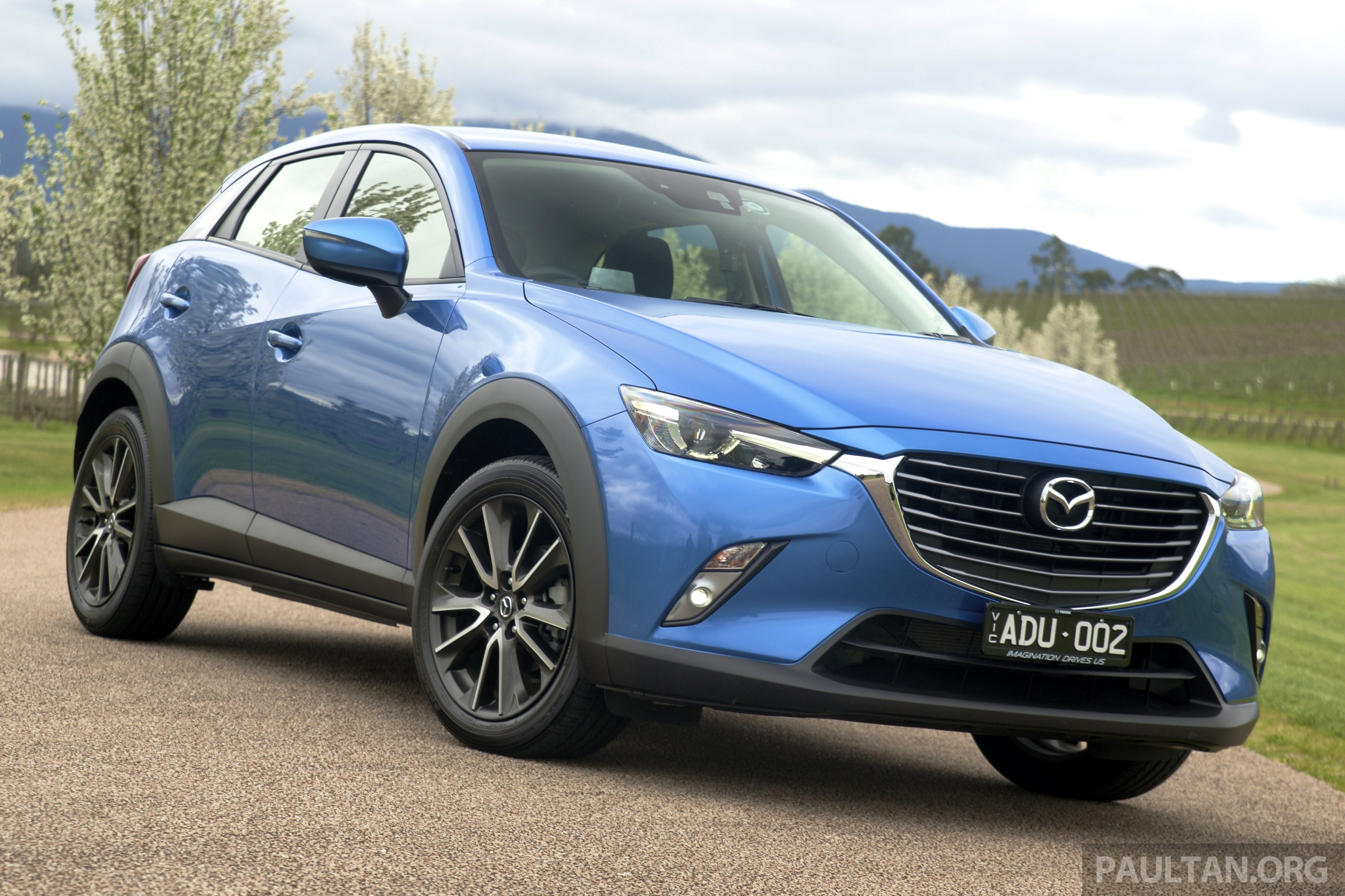 mazda cx 3 goes on sale in thailand from rm102k. Black Bedroom Furniture Sets. Home Design Ideas
