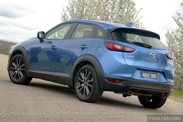 mazda cx-3 goes on sale in thailand - from rm102k