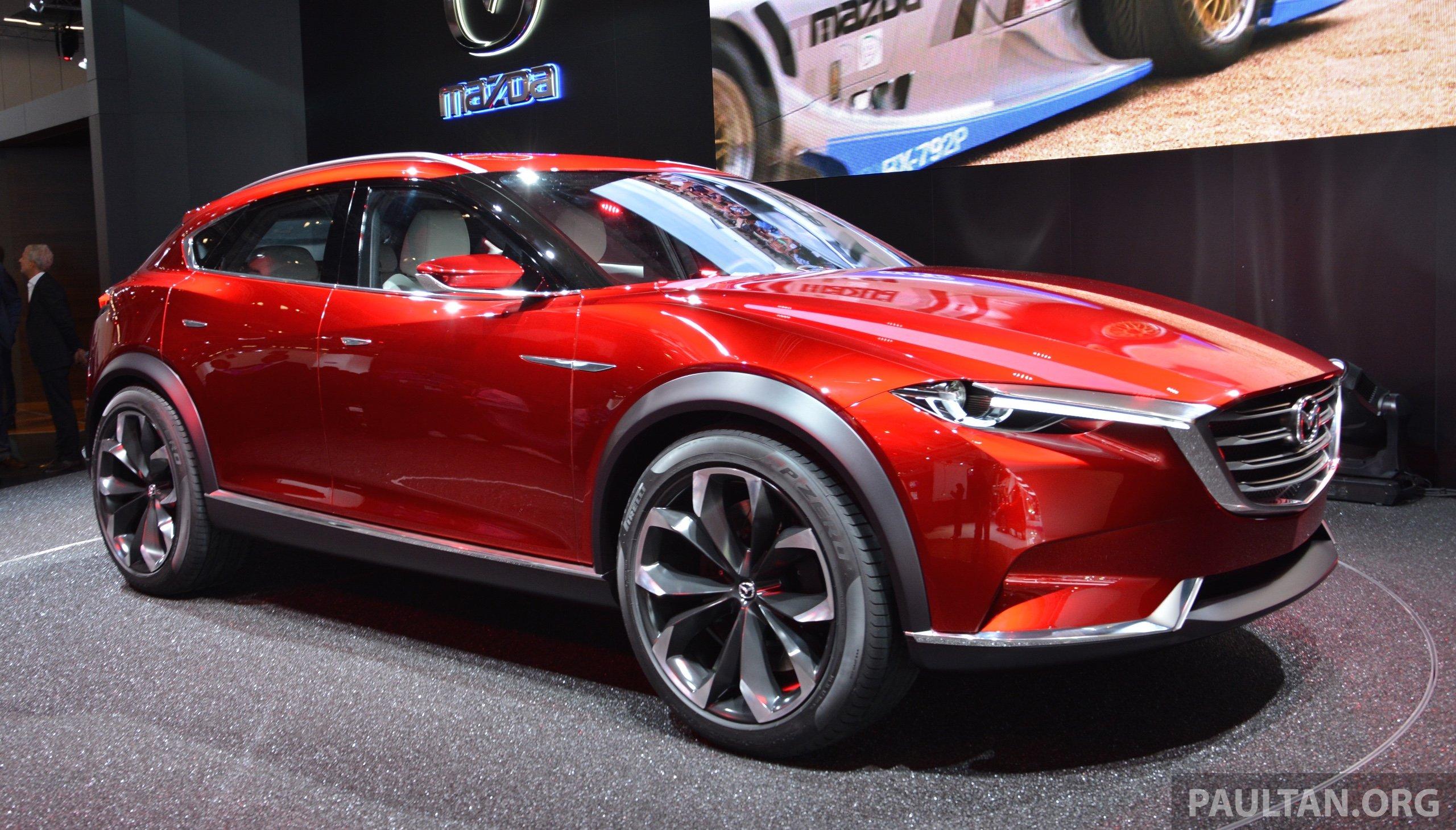 Mazda Koeru Concept Previews A Sportier Cx 5 Suv