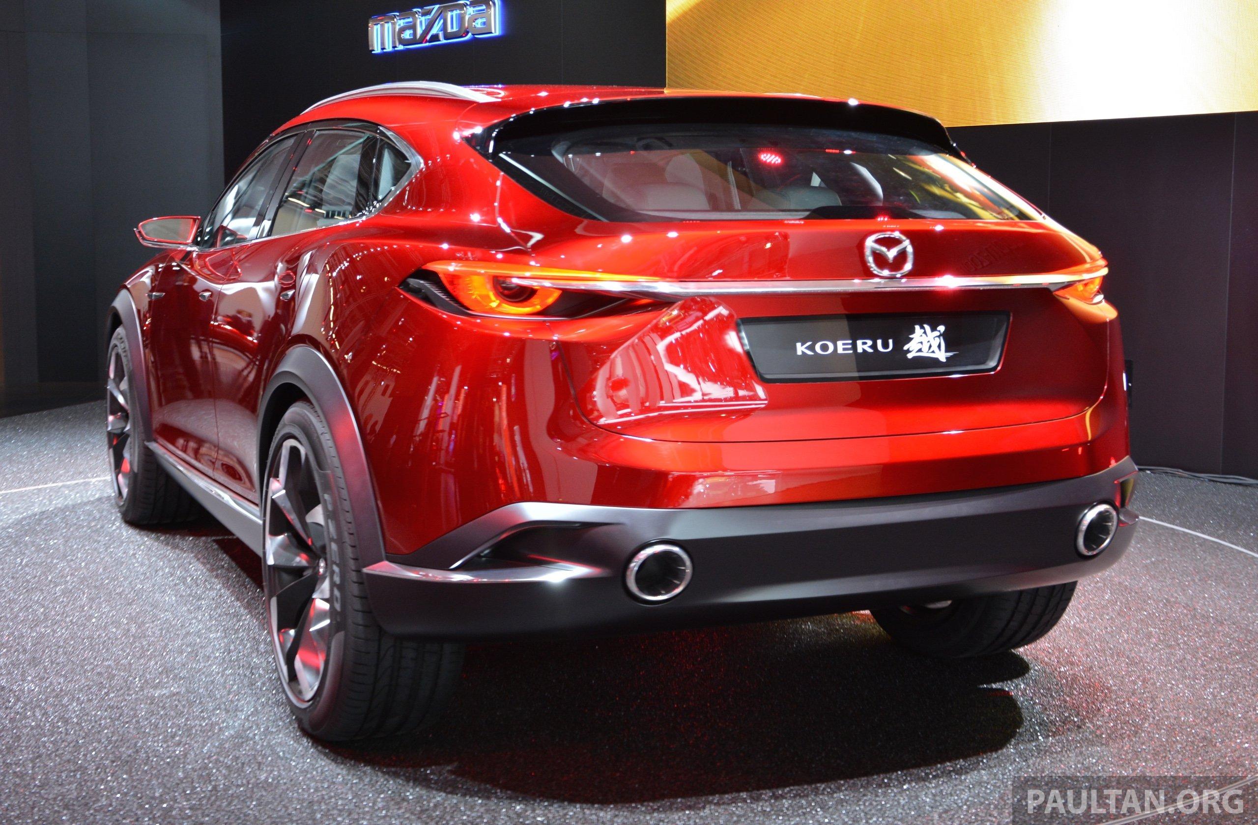 Mazda Koeru concept previews a sportier CX-5 SUV? Image 380241