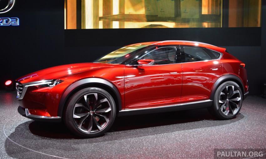 Mazda Koeru concept previews a sportier CX-5 SUV? Image #380221