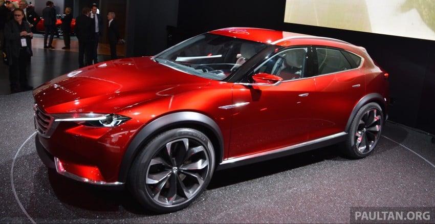Mazda Koeru concept previews a sportier CX-5 SUV? Image #380245