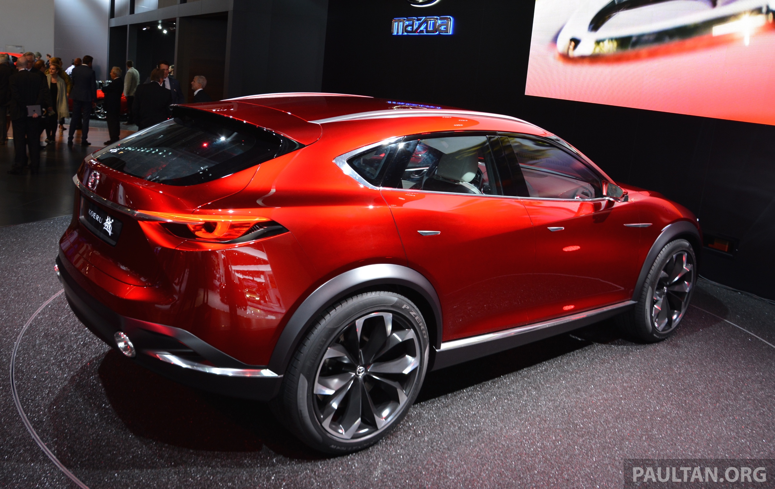 mazda koeru concept previews a sportier cx5 suv paul tan