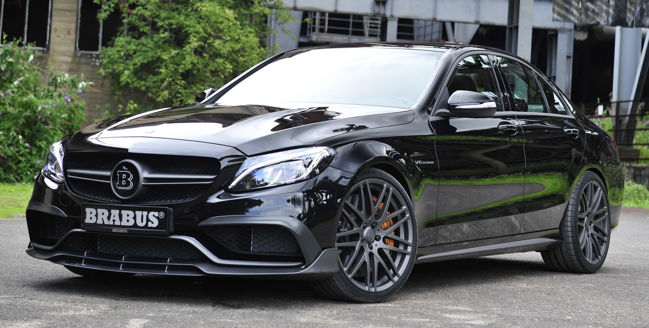 mercedes amg c 63 s by brabus 600 hp and 800 nm. Black Bedroom Furniture Sets. Home Design Ideas