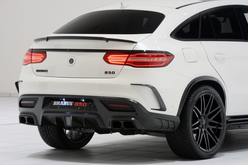 Frankfurt 2015: Brabus 850 6.0 Biturbo 4×4 Coupe is a Mercedes-AMG GLE 63 Coupe with 850 hp, 1,450 Nm! Image #380047