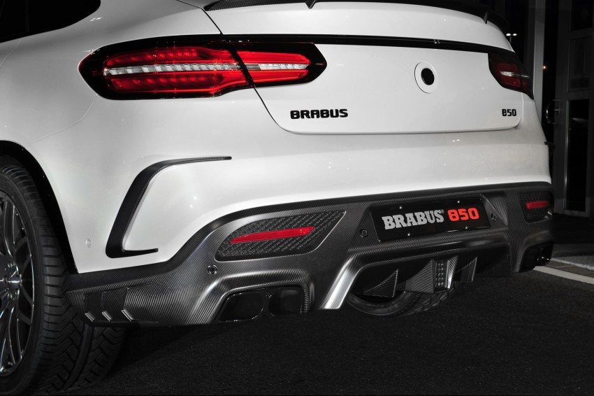 Frankfurt 2015: Brabus 850 6.0 Biturbo 4×4 Coupe is a Mercedes-AMG GLE 63 Coupe with 850 hp, 1,450 Nm! Image #380048