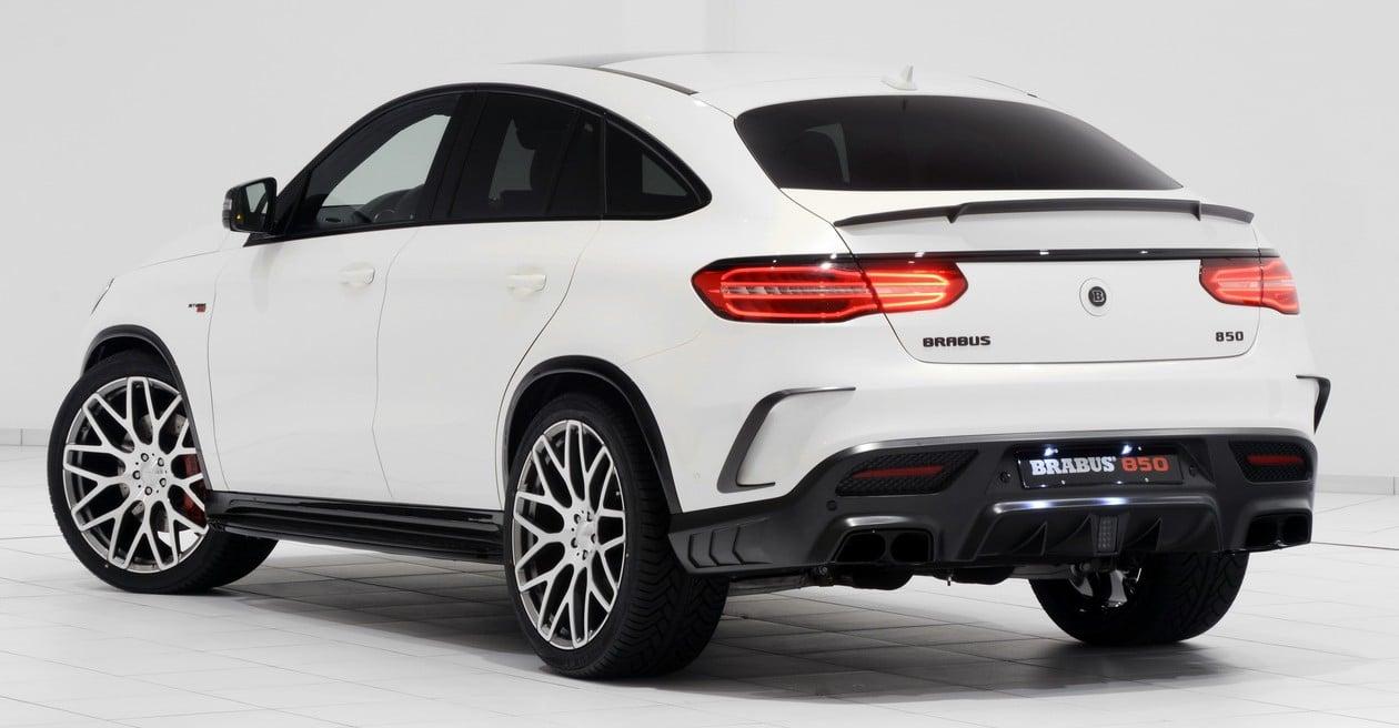 Frankfurt 2015 Brabus 850 60 Biturbo 44 Coupe is a MercedesAMG
