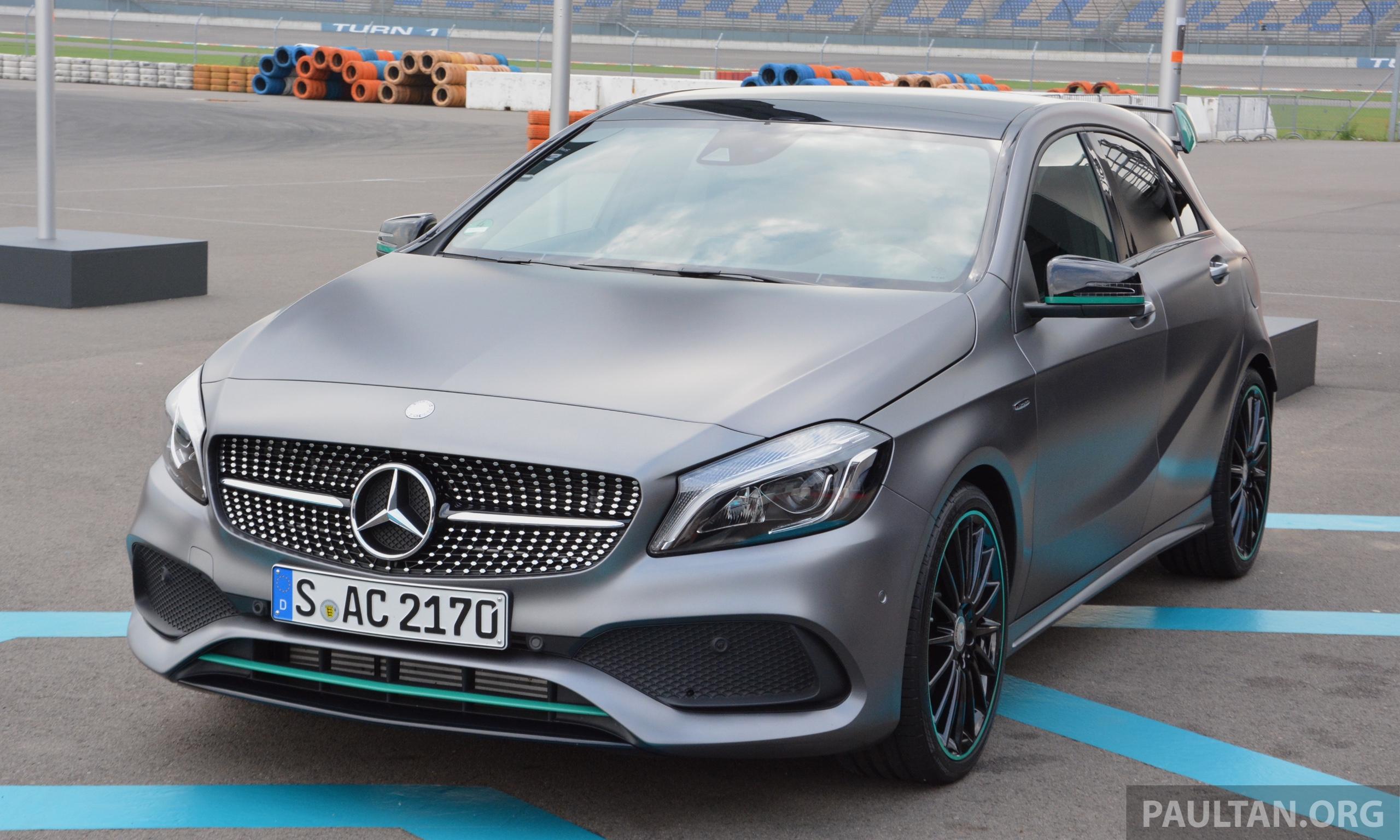 Gallery mercedes benz a class motorsport edition image 378889 for Mercedes benz petronas