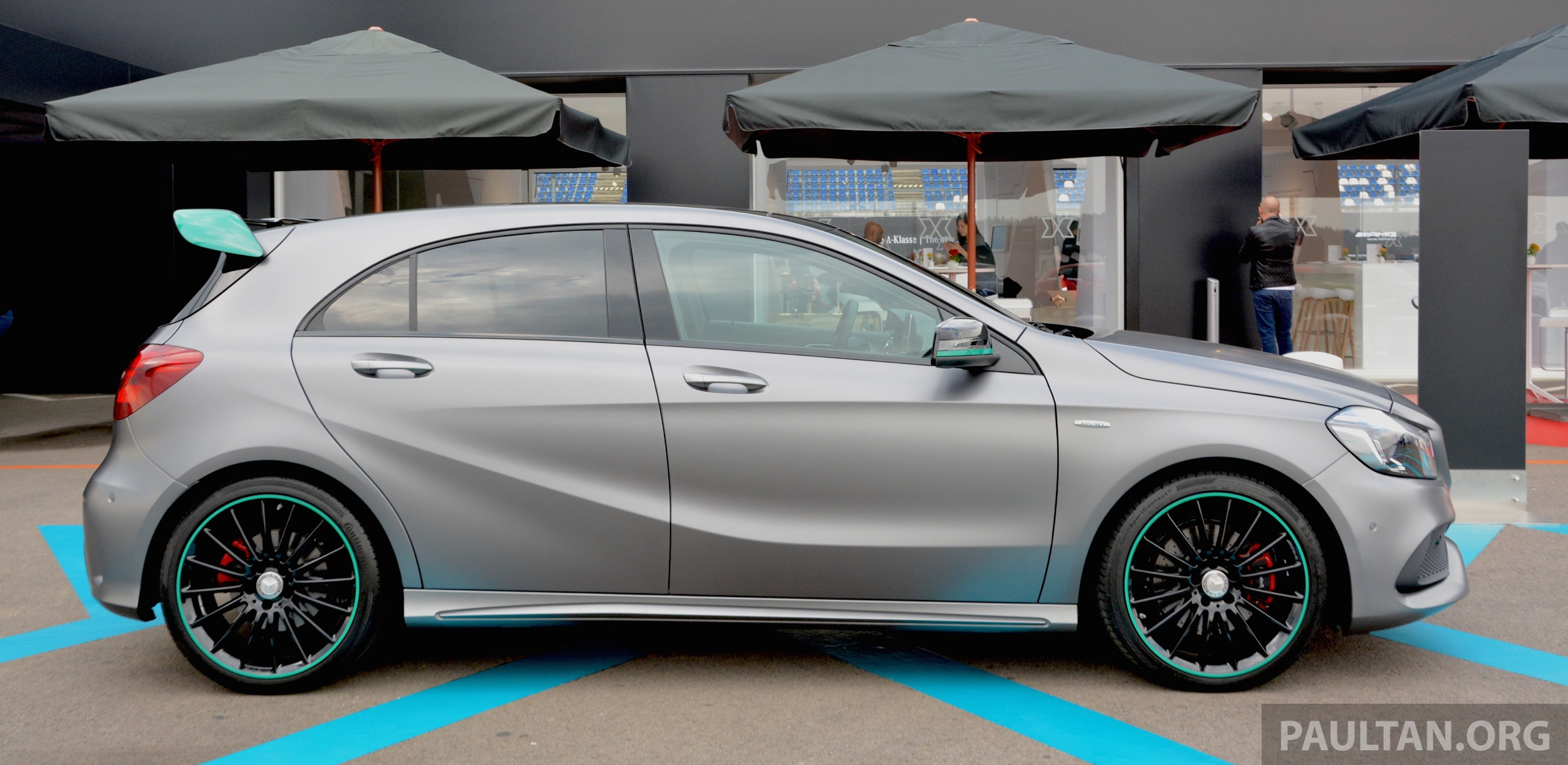 Gallery mercedes benz a class motorsport edition image 378893 for Mercedes benz petronas