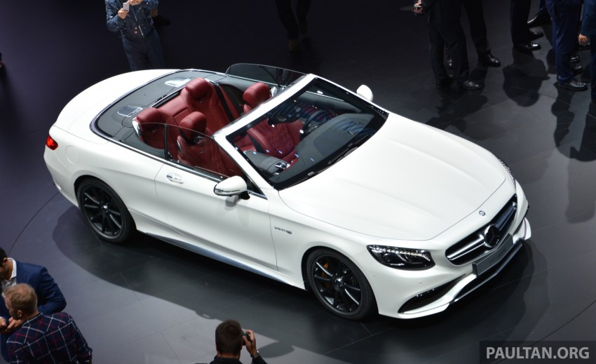GALLERY: A217 Mercedes-Benz S-Class Cabriolet – the S500 and AMG S63 4Matic debut in Frankfurt Image #381724