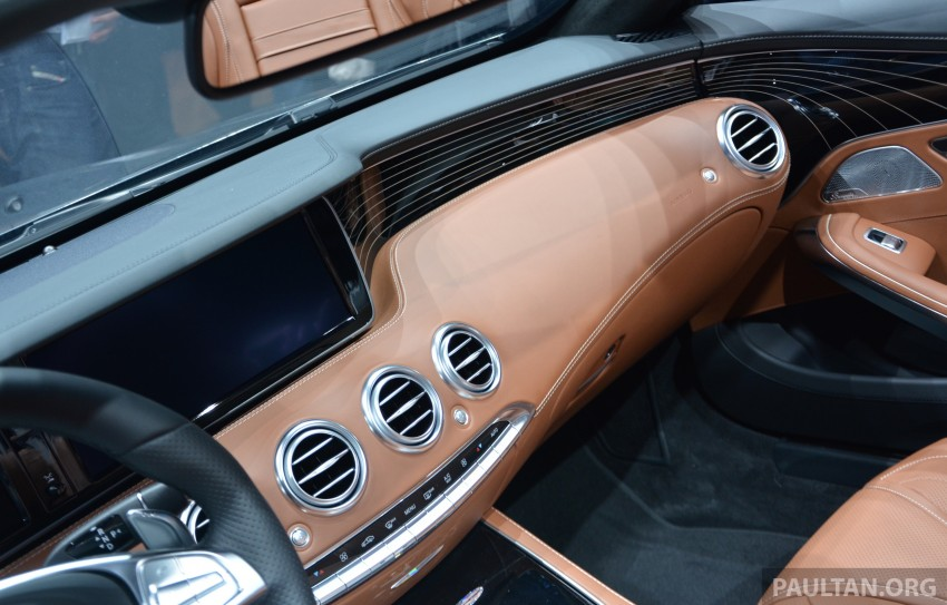GALLERY: A217 Mercedes-Benz S-Class Cabriolet – the S500 and AMG S63 4Matic debut in Frankfurt Image #380012