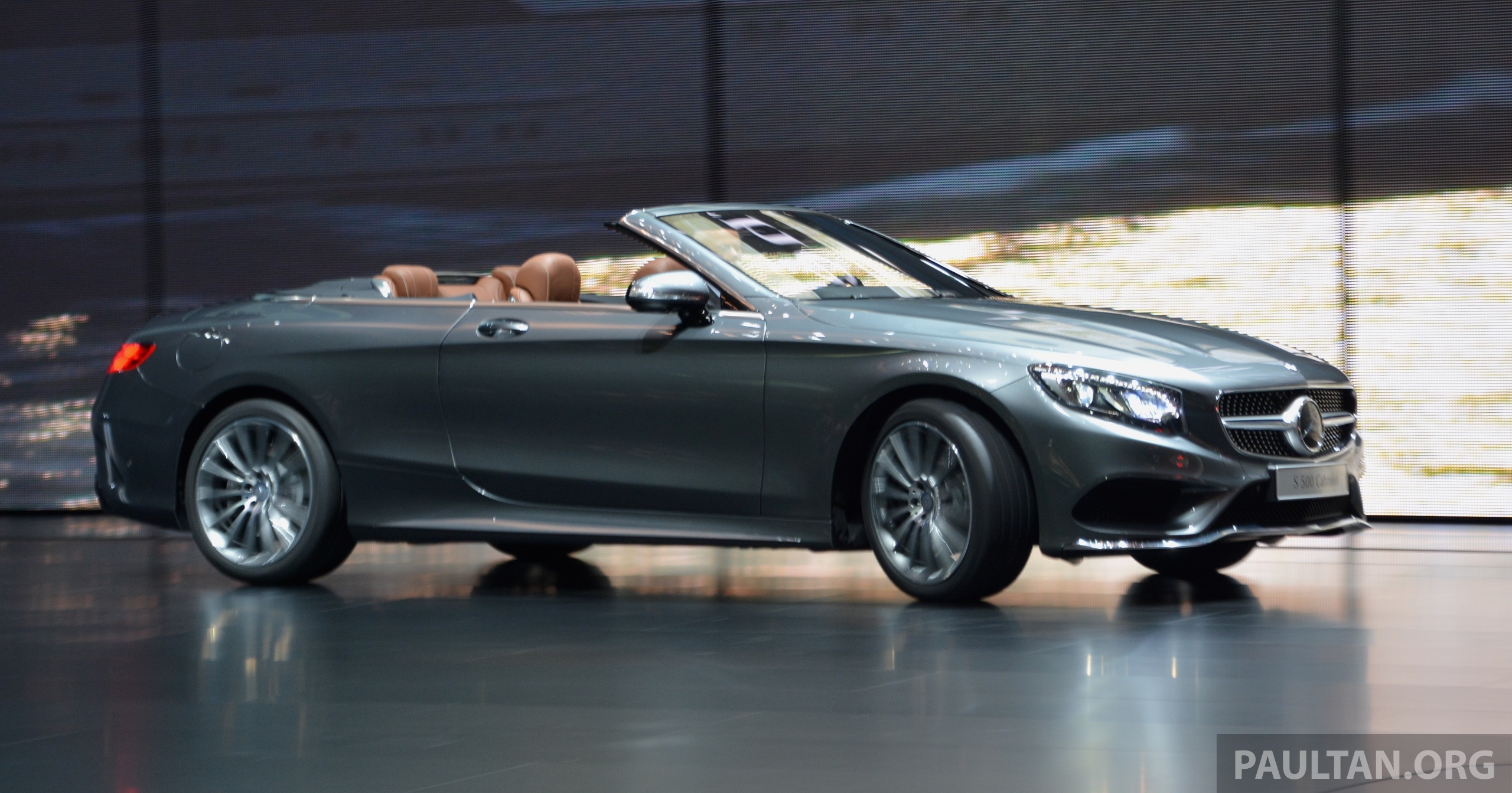 Gallery a217 mercedes benz s class cabriolet the s500 for Mercedes benz s500 amg