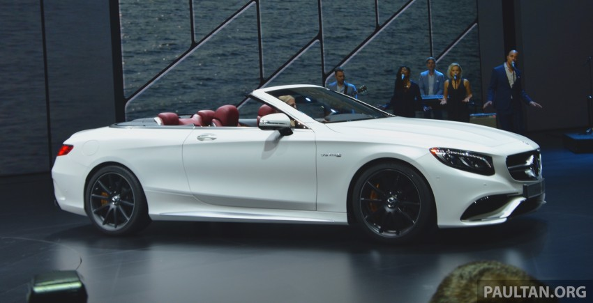 GALLERY: A217 Mercedes-Benz S-Class Cabriolet – the S500 and AMG S63 4Matic debut in Frankfurt Image #379980