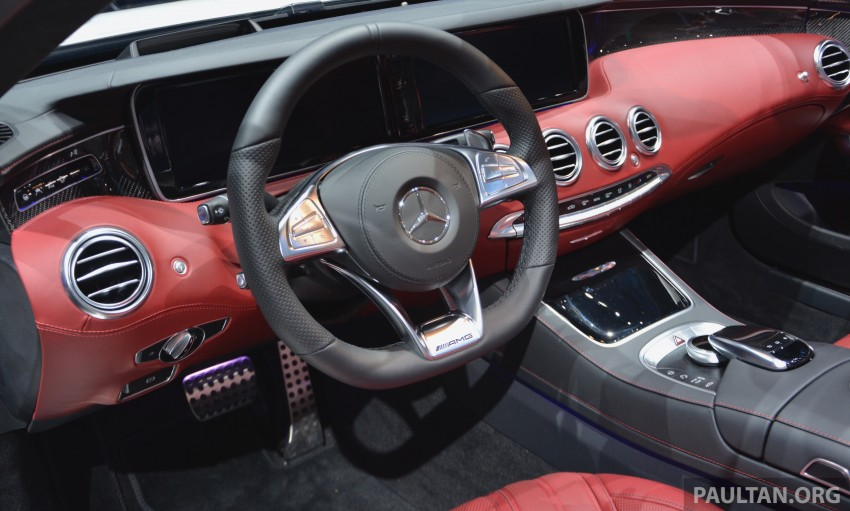 GALLERY: A217 Mercedes-Benz S-Class Cabriolet – the S500 and AMG S63 4Matic debut in Frankfurt Image #379990