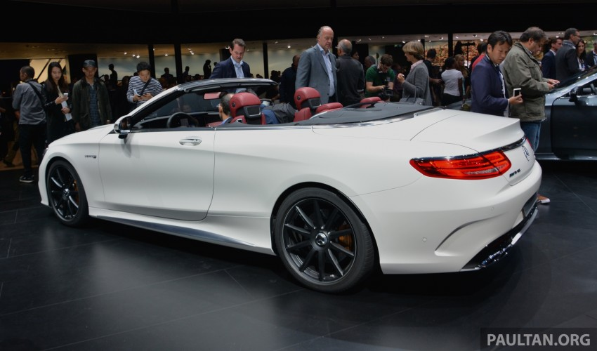 GALLERY: A217 Mercedes-Benz S-Class Cabriolet – the S500 and AMG S63 4Matic debut in Frankfurt Image #380000
