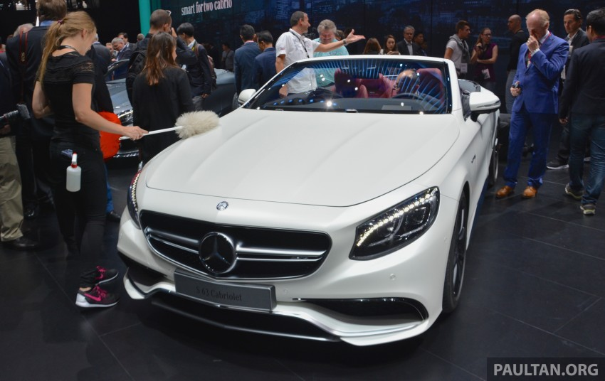 GALLERY: A217 Mercedes-Benz S-Class Cabriolet – the S500 and AMG S63 4Matic debut in Frankfurt Image #380002