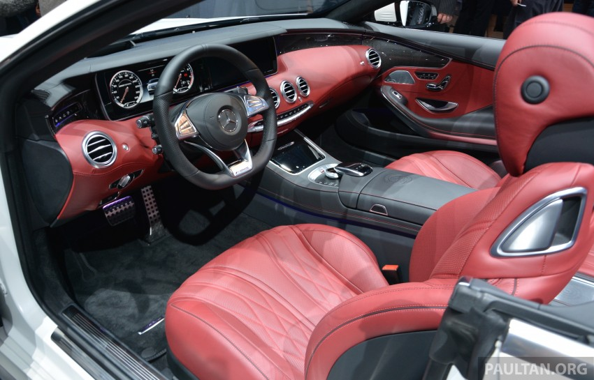 GALLERY: A217 Mercedes-Benz S-Class Cabriolet – the S500 and AMG S63 4Matic debut in Frankfurt Image #379984