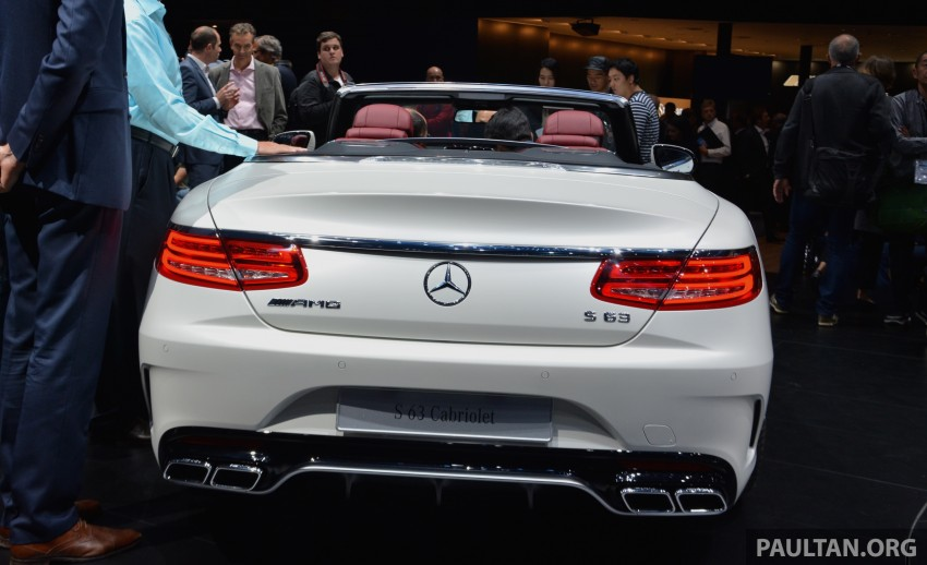 GALLERY: A217 Mercedes-Benz S-Class Cabriolet – the S500 and AMG S63 4Matic debut in Frankfurt Image #379987