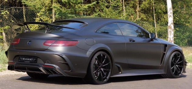 Mercedes-Benz S63 AMG Coupe Black Edition Mansory 2