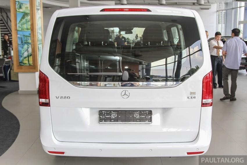 Mercedes-Benz V-Class now here – V 220 d, fr RM435k Image #376920