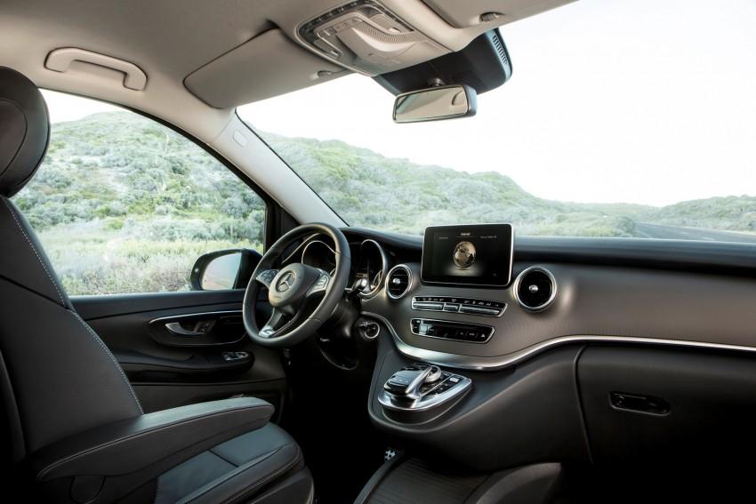 Mercedes-Benz V-Class now here – V 220 d, fr RM435k Image #376818