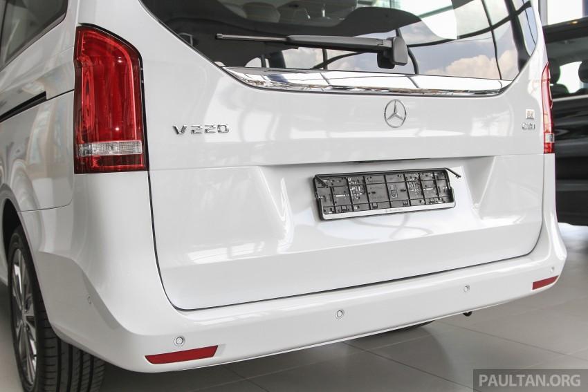 Mercedes-Benz V-Class now here – V 220 d, fr RM435k Image #376924