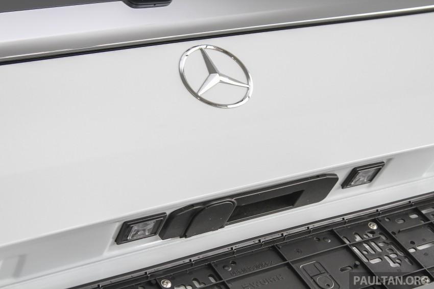 Mercedes-Benz V-Class now here – V 220 d, fr RM435k Image #376925