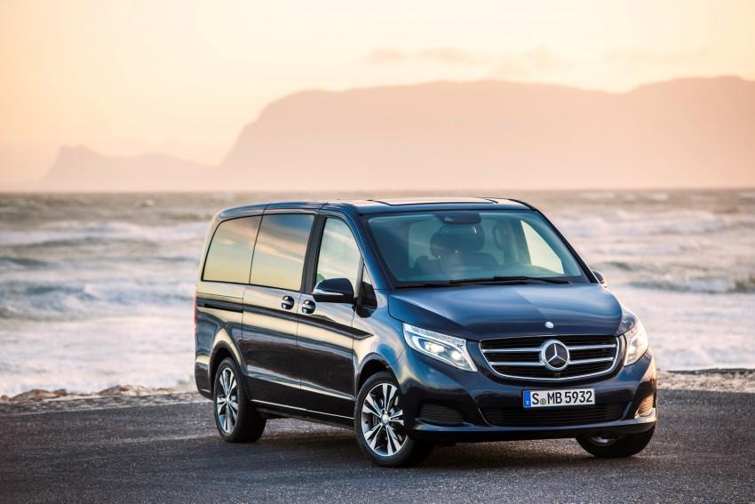 Mercedes-Benz V-Class now here – V 220 d, fr RM435k Image #376820