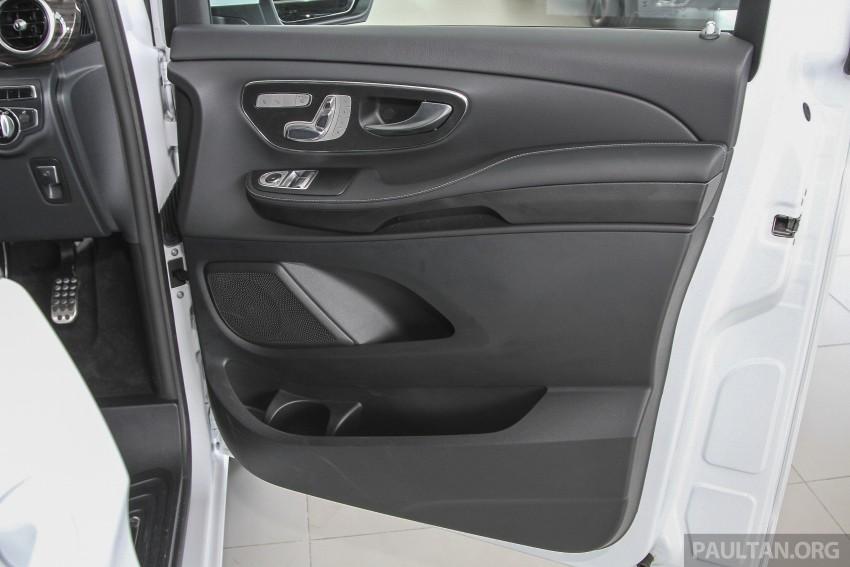 Mercedes-Benz V-Class now here – V 220 d, fr RM435k Image #376928