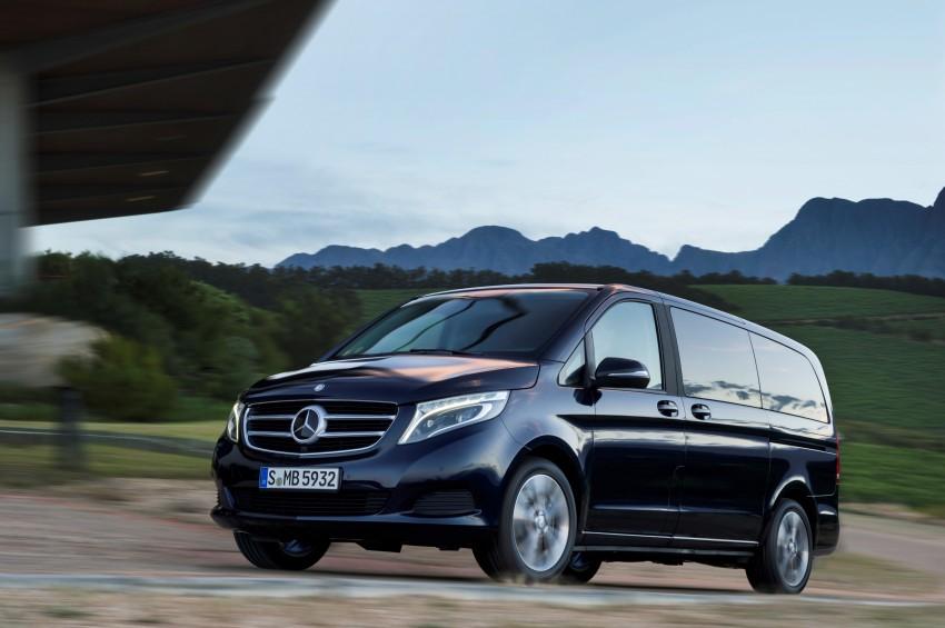 Mercedes-Benz V-Class now here – V 220 d, fr RM435k Image #376822