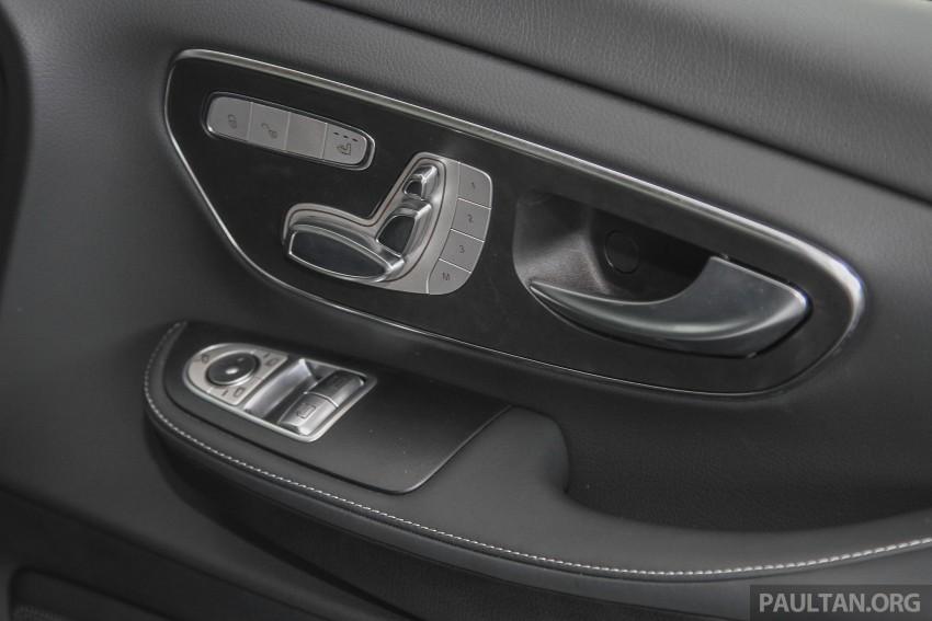 Mercedes-Benz V-Class now here – V 220 d, fr RM435k Image #376930