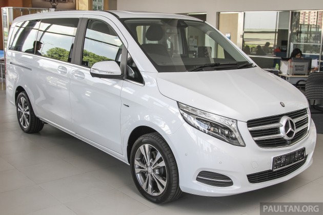 Mercedes Benz V Class Now Here V 220 D Fr Rm435k