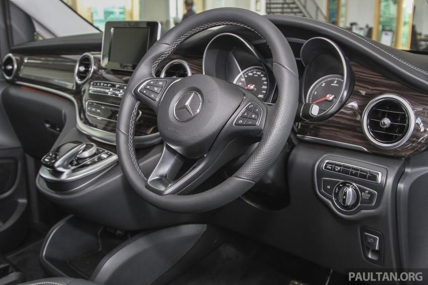 Mercedes-Benz V-Class now here – V 220 d, fr RM435k Image #376931