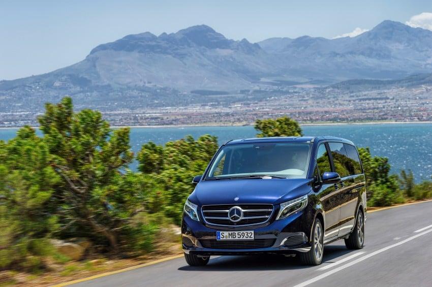 Mercedes-Benz V-Class now here – V 220 d, fr RM435k Image #376825