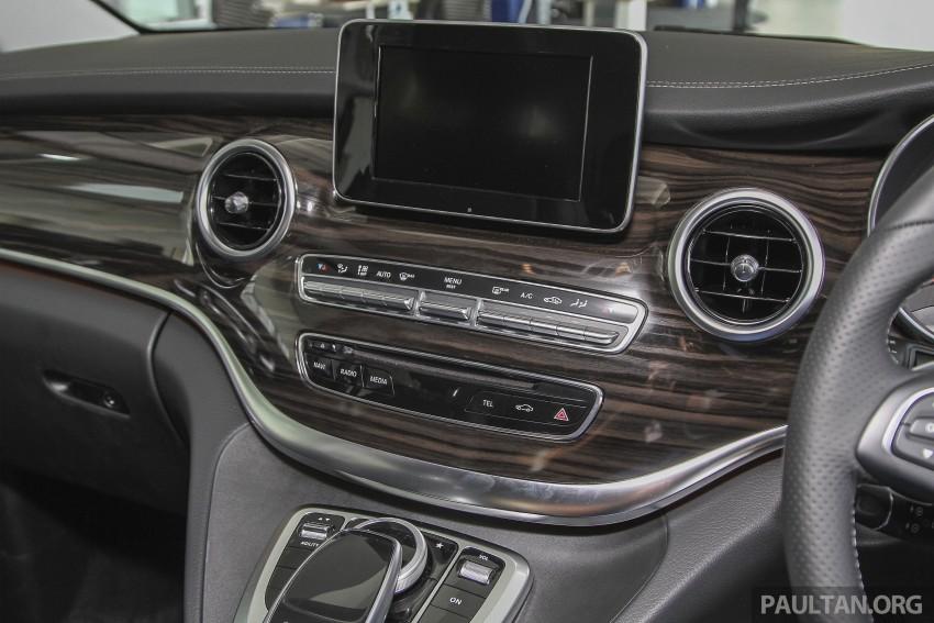 Mercedes-Benz V-Class now here – V 220 d, fr RM435k Image #376935