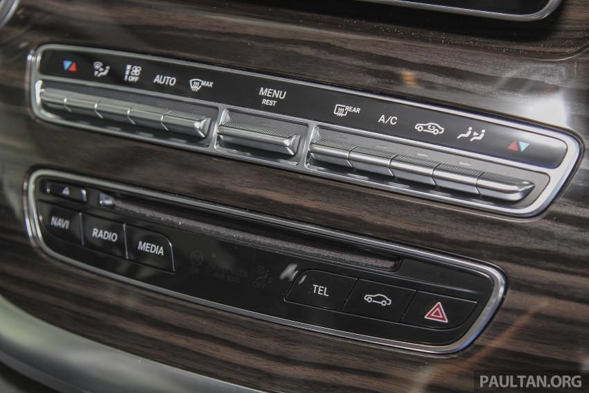 Mercedes-Benz V-Class now here – V 220 d, fr RM435k Image #376936
