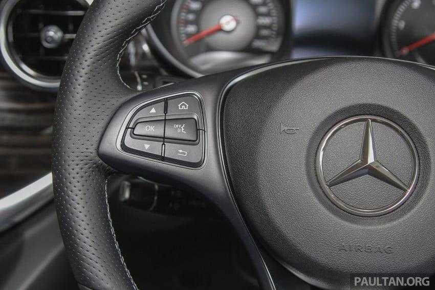 Mercedes-Benz V-Class now here – V 220 d, fr RM435k Image #376938