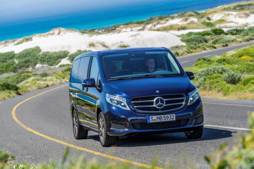 Mercedes-Benz V-Class now here – V 220 d, fr RM435k Image #376829