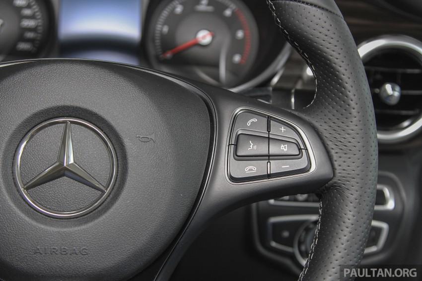 Mercedes-Benz V-Class now here – V 220 d, fr RM435k Image #376939