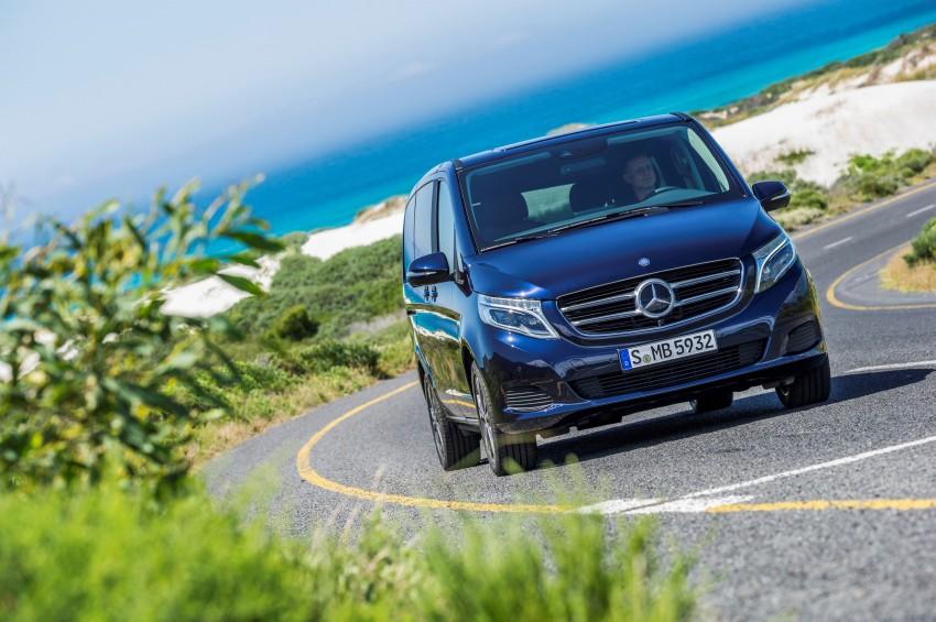 Mercedes-Benz V-Class now here – V 220 d, fr RM435k Image #376830