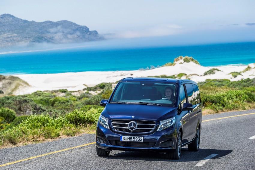 Mercedes-Benz V-Class now here – V 220 d, fr RM435k Image #376831