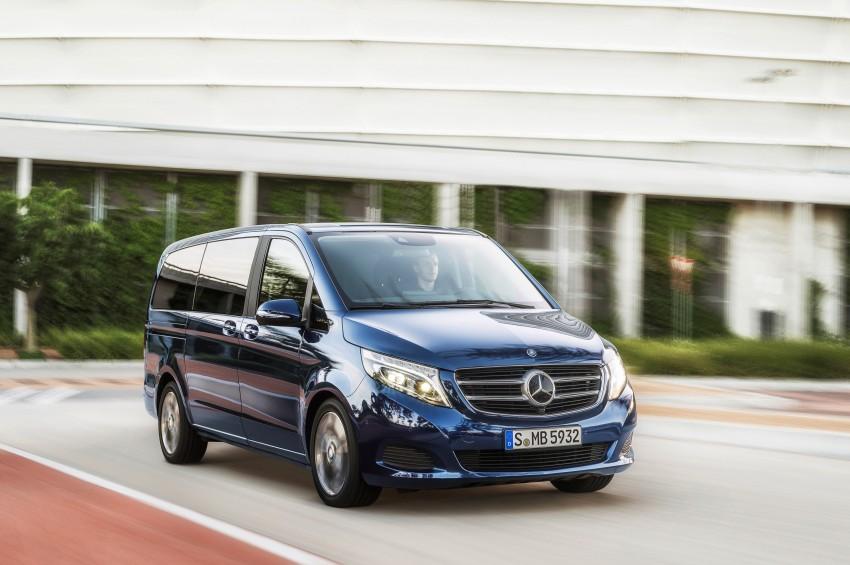 Mercedes-Benz V-Class now here – V 220 d, fr RM435k Image #376832