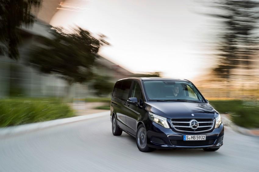 Mercedes-Benz V-Class now here – V 220 d, fr RM435k Image #376833